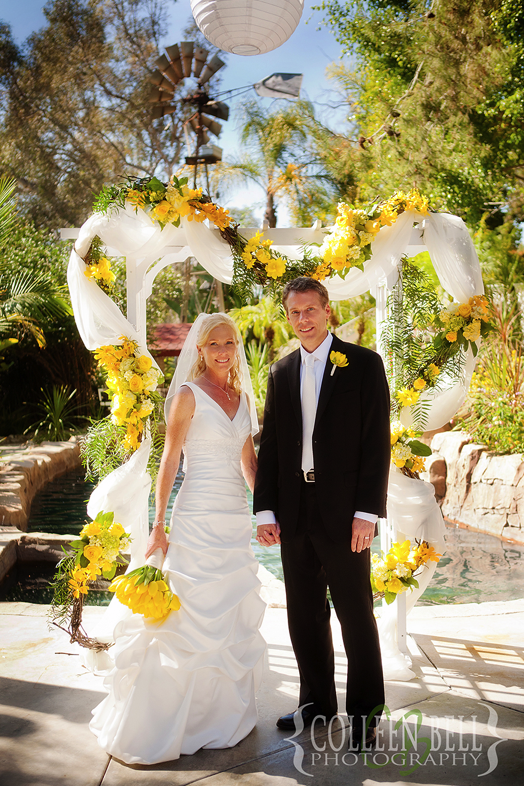 alternative wedding orange county wedding flowers