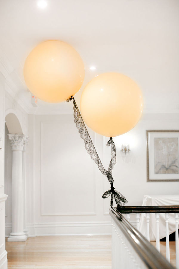 wedding balloons! } I am gonna make a little prediction- I think