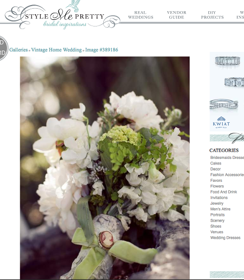 Featured flower allie is on style me pretty again flower allie i am beyond excited to have one of my weddings featured on style me pretty again 3 style me pretty wedding in 3 months woo hoo i am also beyond happy that mightylinksfo