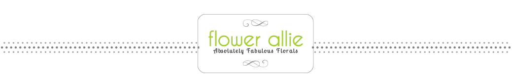 Flower Allie – Orange County Wedding Florist and Delivery for all Occasions logo